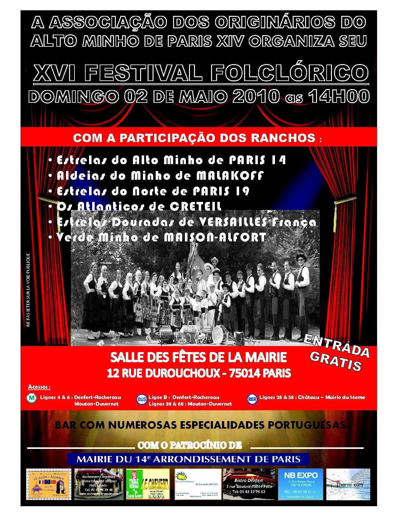 Festival 2 Mai 2010
