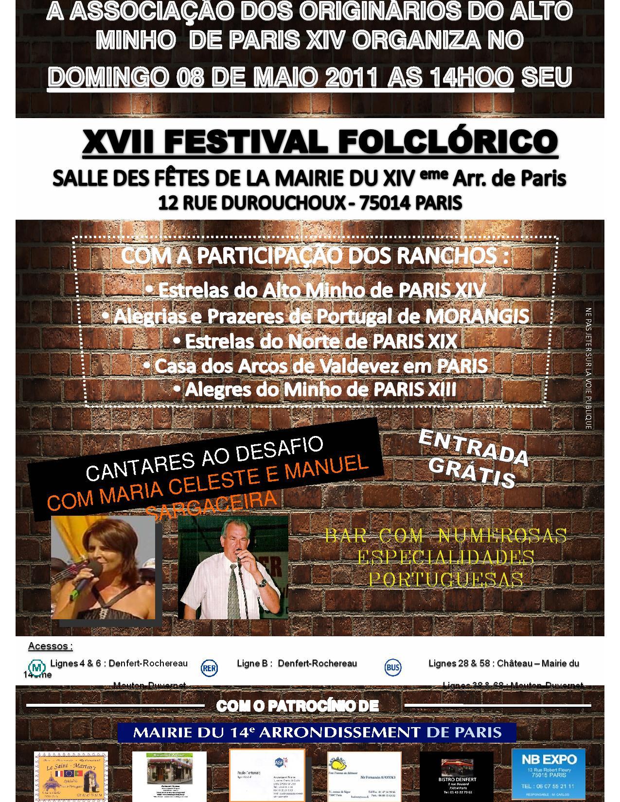 Festival 8 Mai 2011
